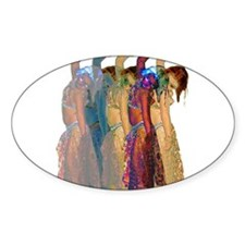 Rainbow Troupe Oval Decal