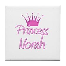 Princess Norah Tile Coaster
