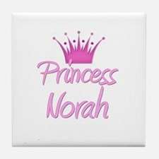 Princess Norah Tile Coaster