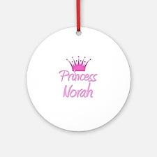 Princess Norah Ornament (Round)