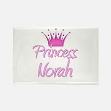 Princess Norah Rectangle Magnet
