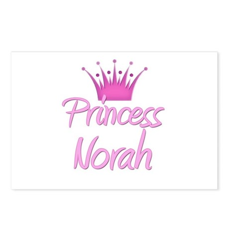 Princess Norah Postcards (Package of 8)