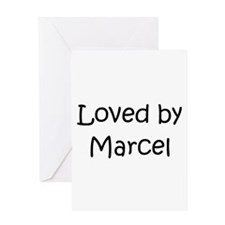 Cool Marcel Greeting Card