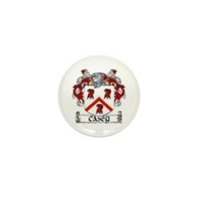 Casey Coat of Arms Mini Button (10 pack)