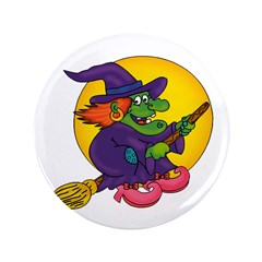 Witch riding Broom 3.5
