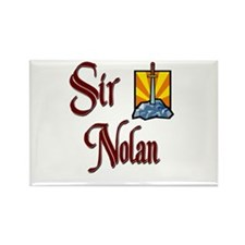 Sir Nolan Rectangle Magnet