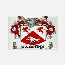 Cassidy Coat of Arms Rectangle Magnet (10 pack)