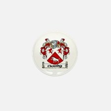 Cassidy Coat of Arms Mini Button (10 pack)
