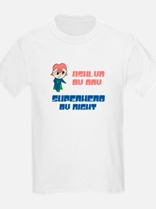 Ashlyn - Super Hero by Night T-Shirt