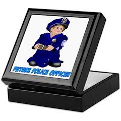 Future Police Officer Keepsake Box