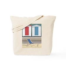 Beach Huts Tote Bag