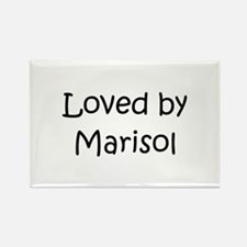 Cute Marisol Rectangle Magnet