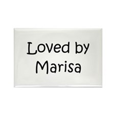 Unique Marisa Rectangle Magnet