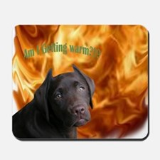 Devil Made Me Do It! Mousepad