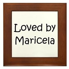 Maricela Framed Tile