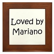 Unique Mariano Framed Tile
