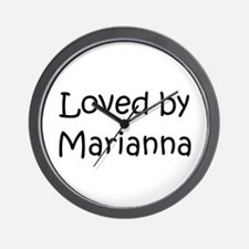 Unique Marianna Wall Clock