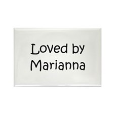 Cute Marianna Rectangle Magnet