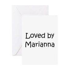 Cool Marianna Greeting Card