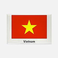 Vietnam Flag Rectangle Magnet