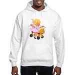 Little Girl Toy Horse Hooded Sweatshirt