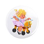 Little Girl Toy Horse 3.5