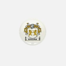 Collins Coat of Arms Mini Button (10 pack)