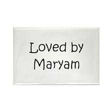 Funny Maryam Rectangle Magnet