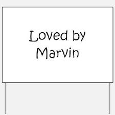 Cute Marvin Yard Sign