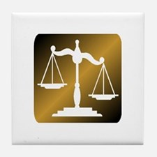 LAWYER Tile Coaster
