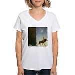John Bauer Women's V-Neck T-Shirt 1