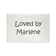 Unique Marlene Rectangle Magnet