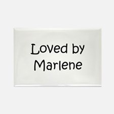 Unique Marlene Rectangle Magnet