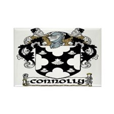 Connolly Coat of Arms Rectangle Magnet (10 pack)