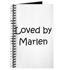 Cute Marlene Journal