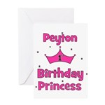 1st Birthday Princess Peyton! Greeting Card
