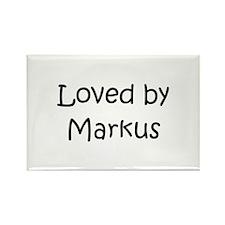 Cute Markus Rectangle Magnet