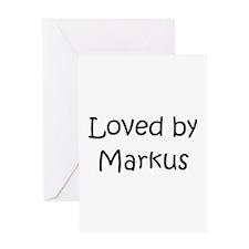 Unique Markus Greeting Card