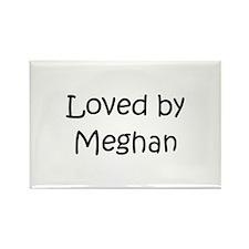 Unique Meghan Rectangle Magnet