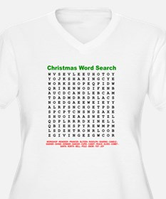 Christmas Word Search T-Shirt