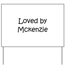 Cute Mckenzie Yard Sign
