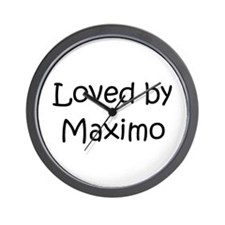 Cute Maximo Wall Clock