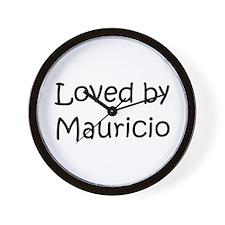 Cute Mauricio Wall Clock