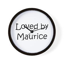 Cute Maurice Wall Clock