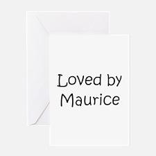 Cute Maurice Greeting Card