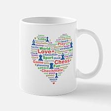 Heart Of Chess Mug