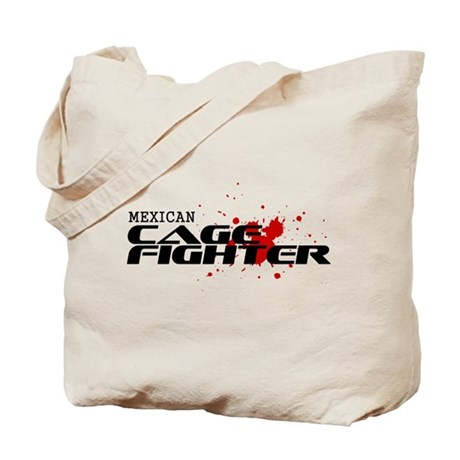 Mexican Cage Fighter Tote Bag