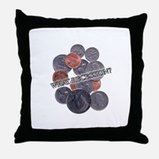 recession??? Throw Pillow