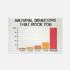 'Natural Disasters' Rectangle Magnet