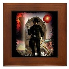 The Dark Tower Framed Tile